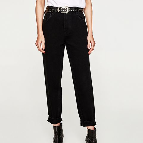 High Waist Mom Fit Jeans