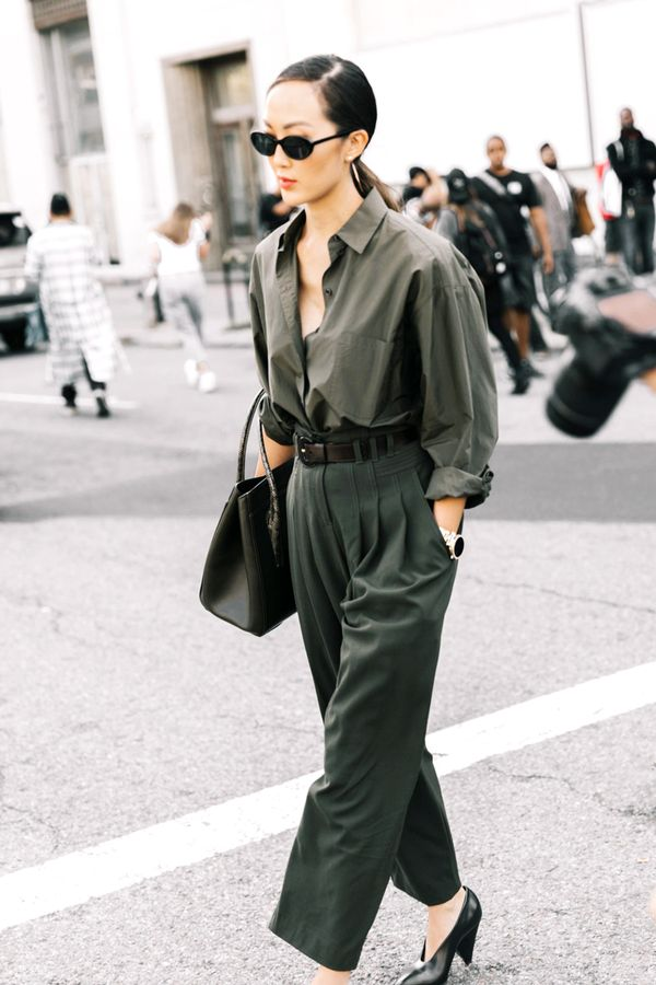 olive green outfit ideas