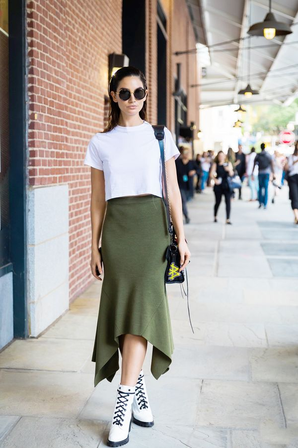 14 stylish olive green outfits