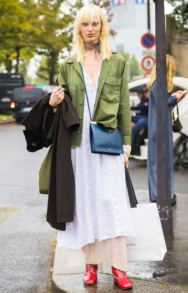 14 ways to wear olive green right now