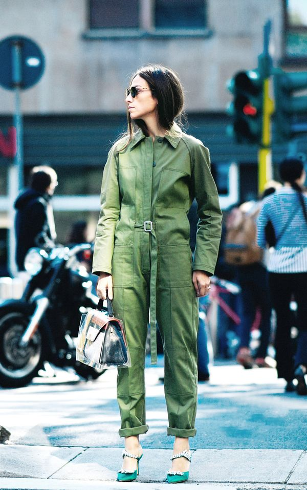 stylish olive green outfits