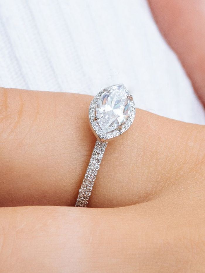 bands perfect love dream rings jewlery in of a watches setting gold beautiful band and stacked rose below on best this engagement is pair pinterest the wedding white ring images sets diamond smaller rock