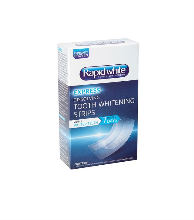 Rapid White Dissolving Tooth Whitening Strips