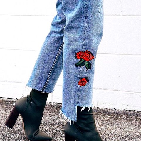 The Embroidered Jeans All the It Girls Own
