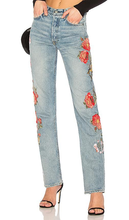Helena High-Rise Straight Jean. - size 31 (also in 23,24,25,26,27,28,29,30,32)
