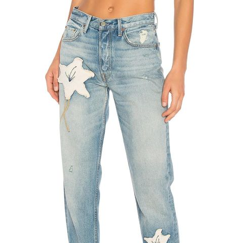 Helena High-Rise Straight Crop Jeans