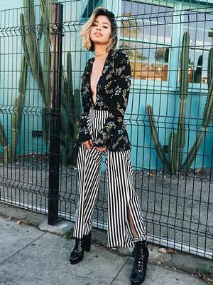How to Pull Off Fall Florals With One Item and Less Than $50