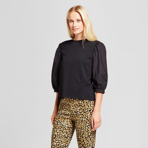 Billow Long Sleeve Woven Top