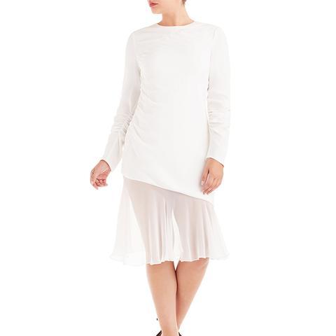 Ruching Detail Dress