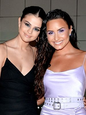 You Have to See Selena Gomez and Demi Lovato's Chic Reunion