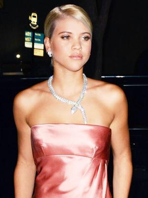OK, Sofia Richie Stole the Show on Bulgari's Red Carpet
