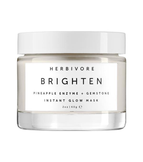 Brighten Pineapple Enzyme + Gemstone Instant Glow Mask 2 oz
