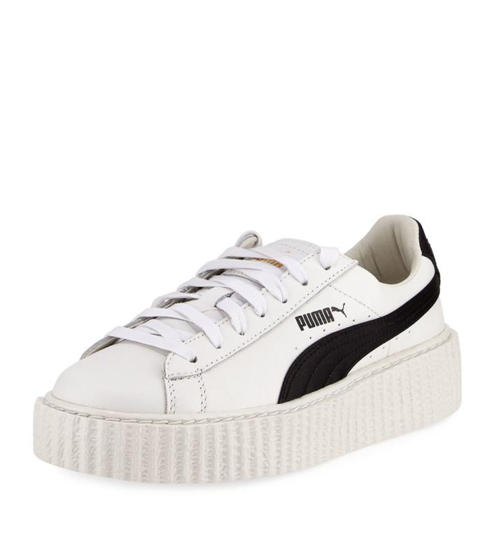 Leather Creeper Sneaker