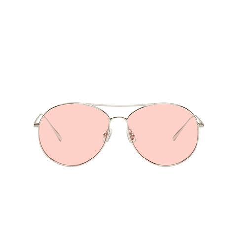 Rannie Ring Aviator Sunglasses