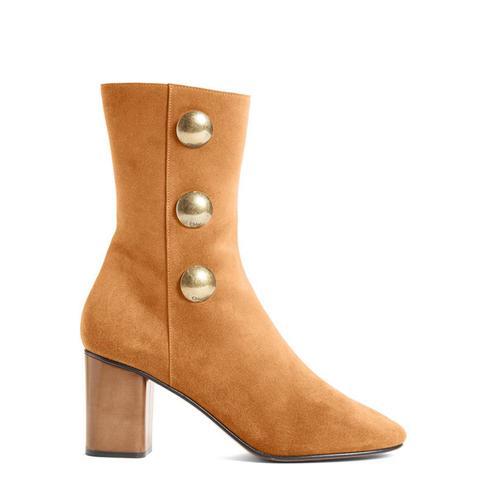 Orlando Short Button Boots