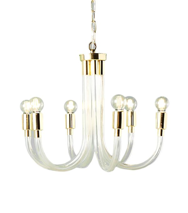 Bettany Lucite Chandelier