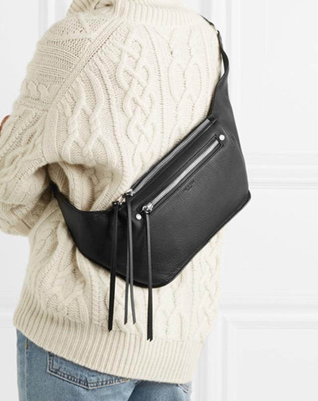 Rag & Bone Ellis Large Textured-Leather Belt Bag