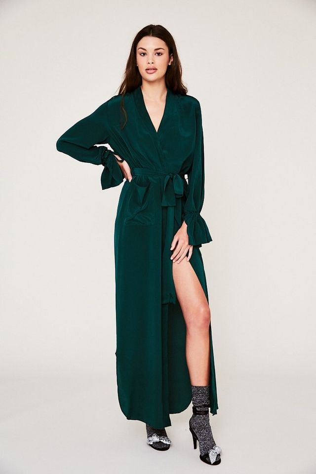 SCF x Always Judging Reservation Robe in Emerald