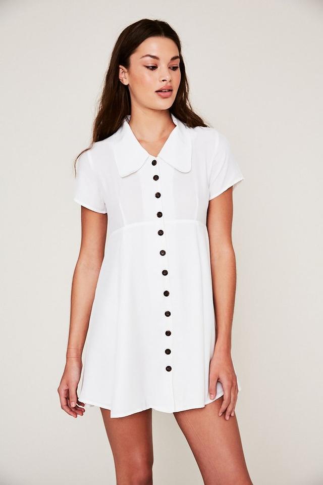 SCF x Always Judging Nightcap Dress in White