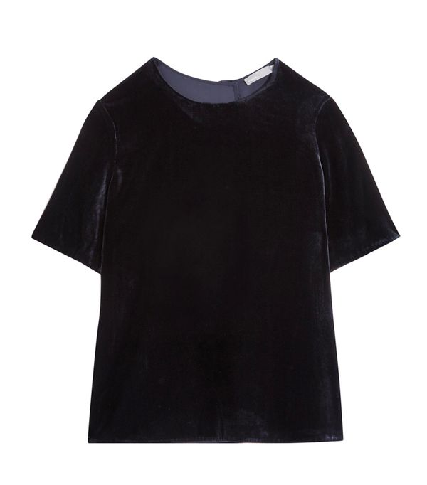 Best Velvet Clothing: Vince Velvet Top