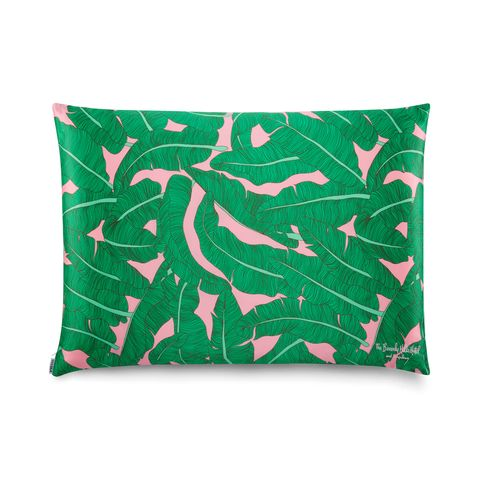 Pink Palace Palm Queen Pillow Case