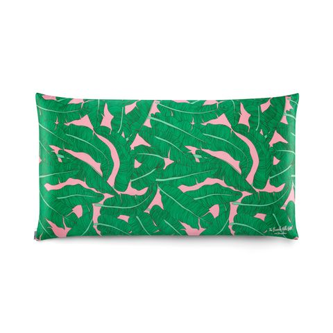 Pink Palace Palm King Pillow Case