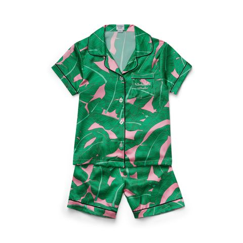 Pink Palace Palm Kid PJs