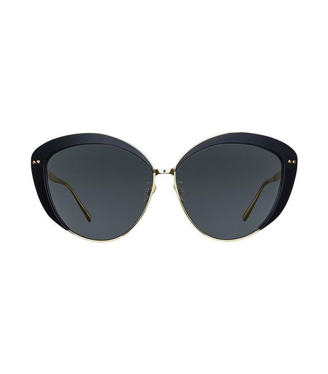 Linda Farrow 579 C1 Cat Eye Sunglasses