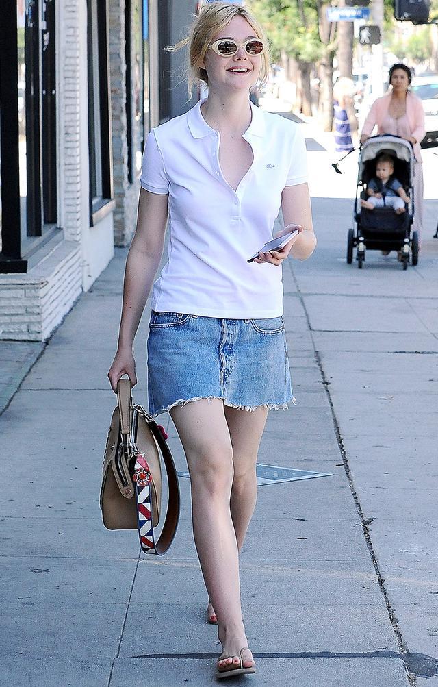 elle fanning elizabeth and james sunglasses