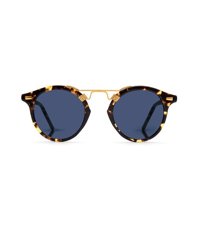 Krewe St. Louis Sunglasses in Bengal Polarized 24K
