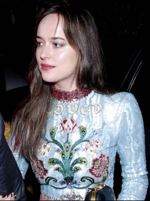 Dakota Johnson Wore a Stunning Dress to a Celeb-Filled Wedding in Rio