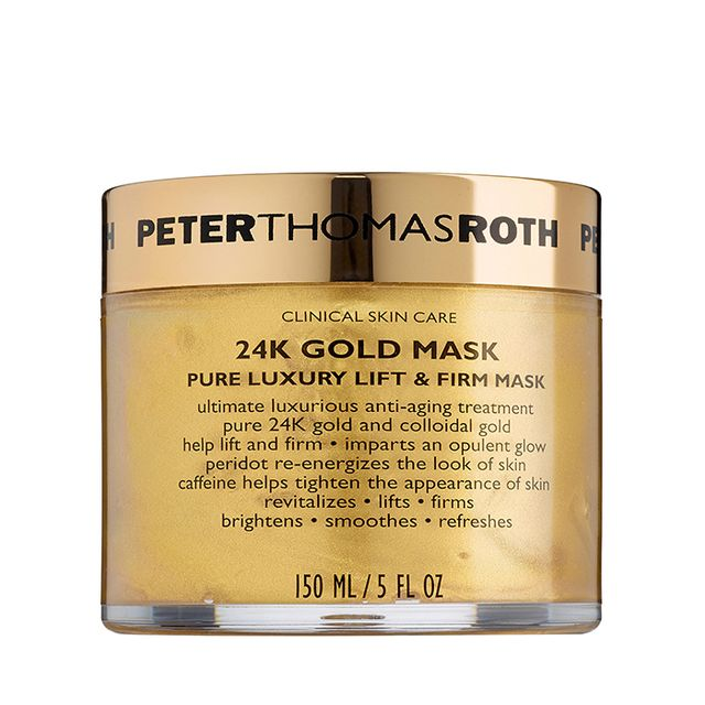 24K Gold Mask Pure Luxury Lift & Firm Mask - fall makeup trends