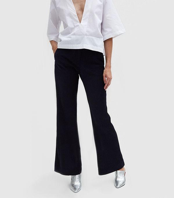 Tessel Cord Pants in Navy
