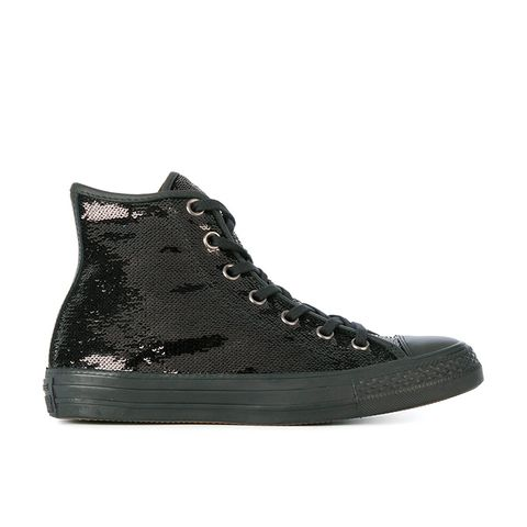 Sequin Embellished All-Star Sneakers