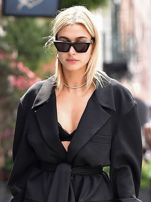 Hailey Baldwin Wore a $70 Dress With the Perfect Party Shoes