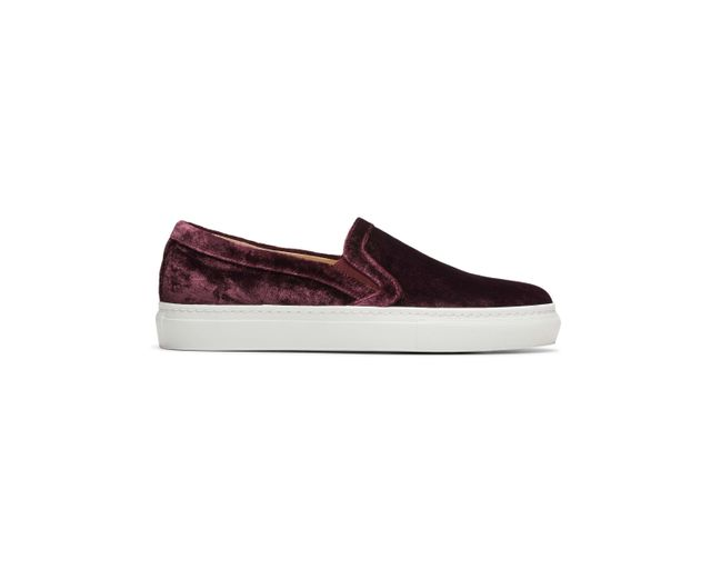 M.Gemi The Cerchio Velvet Sneakers