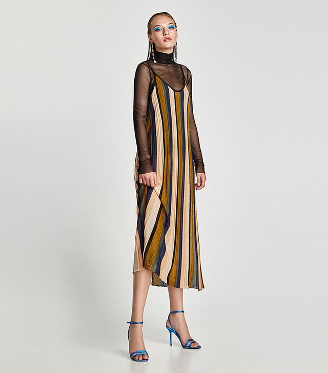 Zara Vertical Stripe Dress