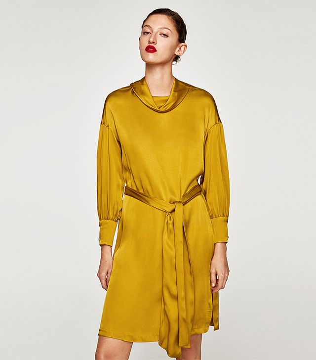 Zara Satin Dress