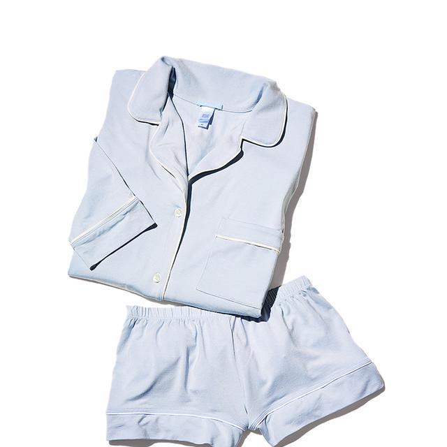 Gisele Long Sleeve Short Pajama Set