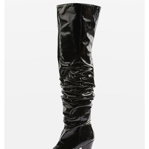 Boxer High Leg Boots