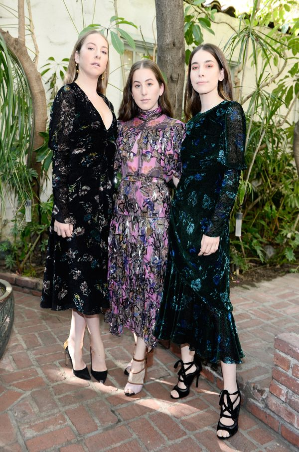 WHO: (L-R) Este Haim, Alana Haim, and Danielle Haim