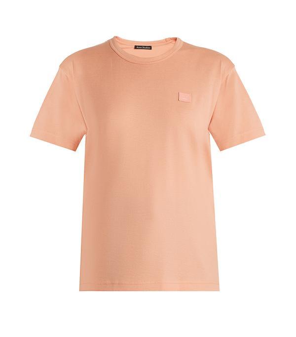 Nash Face cotton-jersey T-shirt