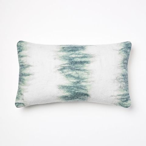 Felted Brushstrokes Stripe Pillow Cover