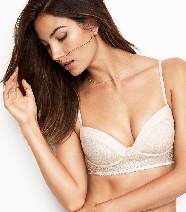 Lace push up bralette. Before we tell you all about our best offer, we want to explain that a bralette is a kind of smaller version of bra. Lace push up bralette is normally without any wire or molded cup. They are versatile, soft and cute to be worn with a bit of sexy rim showing off.