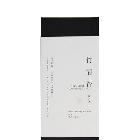 Cherry Blossom Bamboo Charcoal Incense