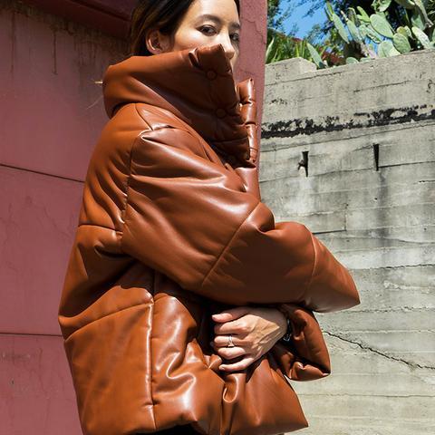 Hide Puffer Jacket