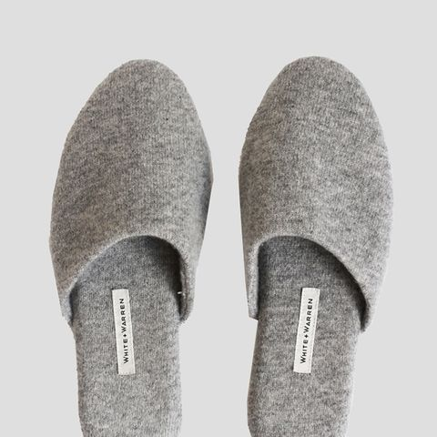 Cashmere Slide Slippers