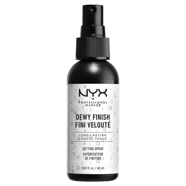 NYX Professional Makeup Setting Spray Dewy Finish - best drugstore setting spray