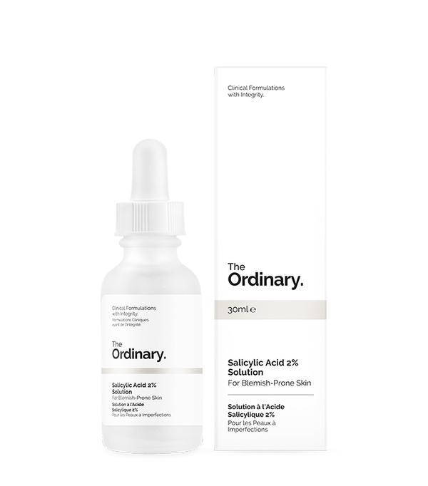 Salicylic acid: The Ordinary Salicylic Acid 2% Solution