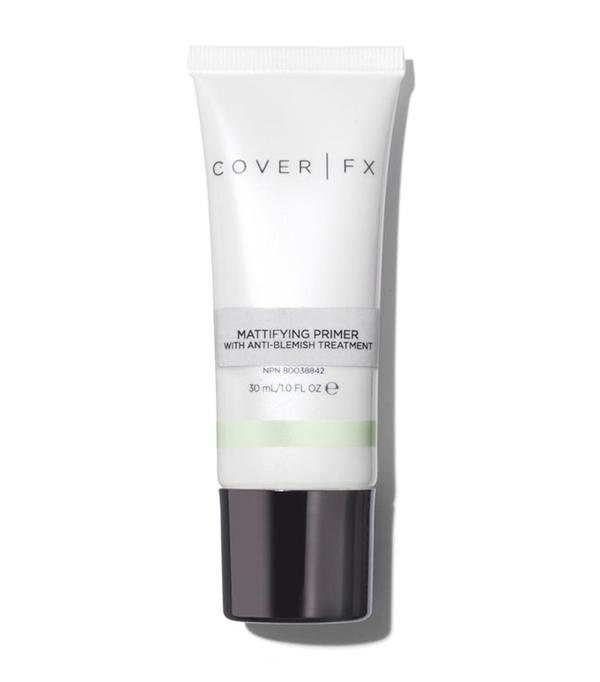 Salicylic acid: Cover FX Mattifying Primer With Anti-Acne Treatment